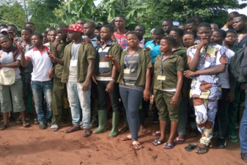 126 STUDENTS FROM AGRICULTURAL SCHOOLS IN BENIN IN PRACTICAL TRAINING IN SONGHAI
