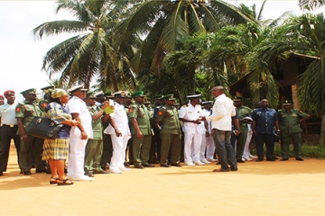 VISIT: A CONTINGENT OF THE NAVAL FORCES OF NIGERIA STUDYING THE CONTRIBUTION OF SONGHAI CENTER TO THE RESOLUTION OF THE PROBLEM OF UNEMPLOYMENT